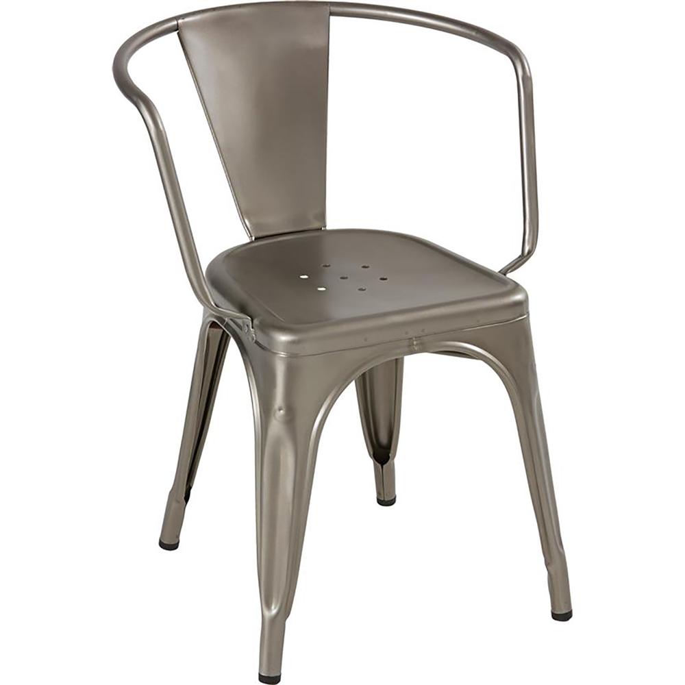 Tolix a stol med armlen brilliant k b hos utleie partner - Garderobe tolix ...